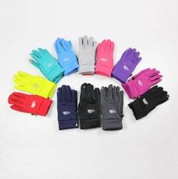 Wholesale Wholesale Sporting Gloves - The North Gloves Face Winter Capacitive Men Women Touch Screen Glove Sports Outdoor Cycling Riding Gloves 2pcs Pair OOA3455