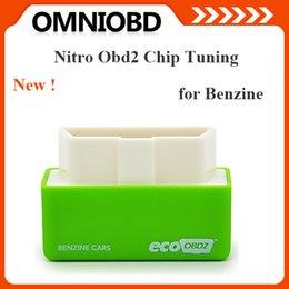 Wholesale Car Performance Tuning - Factory Price NitroOBD2 Performance Chip Tuning Box for Benzine Cars NitroOBD2 Chip Tuning Box Free Shipping