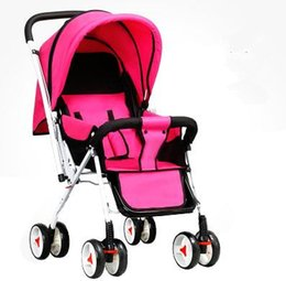 Wholesale Lightweight Travel Strollers - Baby Stroller Lightweight,Designer Baby Stroller,China Pushchair Travel Folding Pushchair Cart Ultra-light,8 Colors in Stock