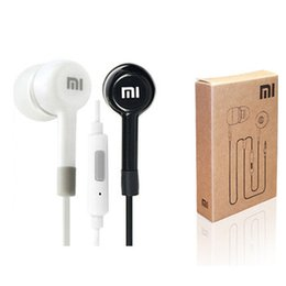 Wholesale Wireless Headphones Remote - Wholesale-3.5mm Super Bass Stereo Earphone Headphone Headset For Xiaomi M2 S1 For Samsung For iPhone 4 5 5s 6 plus Mp3 With Remote And MIC