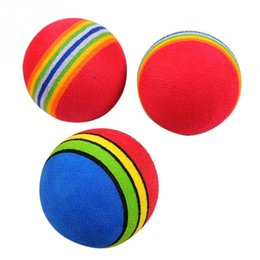 Wholesale Baby Toys Products - Baby Dog Toys Pet Toys Puppy Dog And Cat Toys Chew Q Rainbow Ball Toys For Cat Pet Products