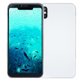 Wholesale Ips Wifi - Face ID Goophone X V6 Clone Wireless Charger 4GB 32GB+32GB Octa Core MTK6753 Android 7.0 5.8 inch IPS 1920*1080 FHD 16.0MP Camera Smartphone