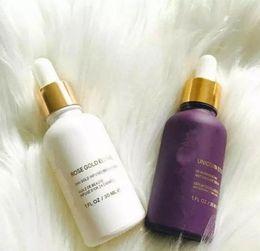 Wholesale rose oil perfume - New 15ml Moisturizing Day Face Cream Essence Oils perfumes roll on bottles skin enhancing Rose anti-oxidant Serum Primer Face Skin Care