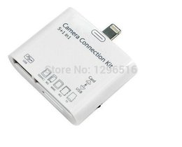 Wholesale Connection Kit For Ipad Mini - fr1pcs High Quality 5 in1 Camera Connection Kit USB Micro SD TF Card Reader Adapter for iPad Mini free drop shipping