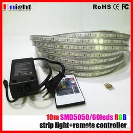 Tiras de luz epistar led on-line-10mm led faixa de luz 10 m conjunto, levou faixa de rgb 5050 RGB RGB azul branco warmwhite 5050 faixa de led com controlador de RGB, epistar 5050 conjunto de tira conduzida