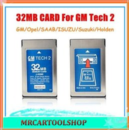Wholesale 32 Mb Memory - Good Quality+ Free shipping! 2015 Newest 32MB Card For GM Tech2 6 Software Optional GM Tech2 Card 32 MB Memory GM Tech 2 Card