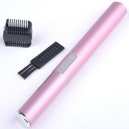 Wholesale Mini Ls - Wholesale-2015 NEW HOT 1Pcs Women Makeup Eyebrow Razor Mini Portable Electric Eyebrow Trimmer Hair Remover Maquiagem LS*HJ0377W#A2
