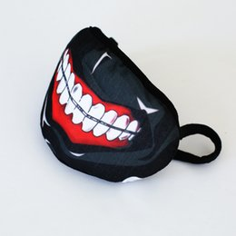 Wholesale Beauty Teeth - Personality Warm Winter Cute Plush Mouth tooth Pattern Cartoon Mask Multicolor Mask Mouth Health & Beauty Keep Warm Mask Respirator KZ010