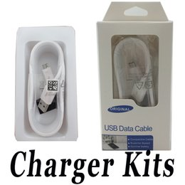 Wholesale Mobile Cords - Micro USB Wall Charger Data Cable Android Charging Cord Sync Data Charger Cable Adapter For Samsung LG Mobile Phone with Retail Package