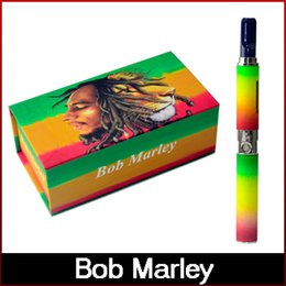 Wholesale Electronic Vapor Pipes - Bob Marley starter e cig herbal vaporizer pen kits electronic cigarette dry herb vaporizer smoking pipe vapor