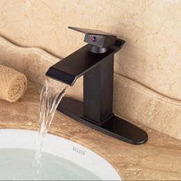 """Couvercle de la plaque du robinet en Ligne-8 """"trou plaque de couverture bronze huilé bassin de la salle de bains robinet montage sur pont 2016 nouvelle arrivée"""