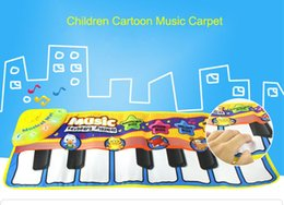 Wholesale Education Kinds - Newest New Eco-friendly Music Carpet Multi-function Can Play 5 Kinds Of Animal Voice Piano mat For Early Childhood Education