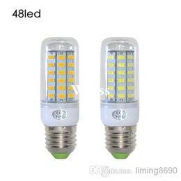Wholesale G9 Led 11w - DHL LED lamps E27 5730 36LEDs Corn LED Bulb 110V 220V 240V 11W Energy Efficient Spotlight Wall light 5730SMD 30pcs Lot