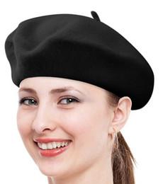 Wholesale Women Berets Caps - New arrive Spring Autumn woman Wool beret hats Princess hat Caps MOQ:50PCS DHL Free shipping