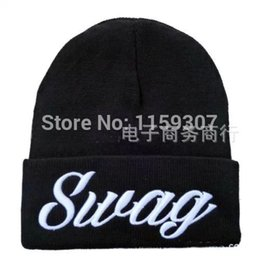 Wholesale Gorros Swag - Wholesale-Swag Beanie Winter Skullies Wool Hats beanies for men and women gorros de lana