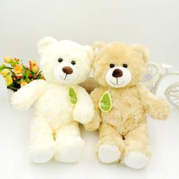 Wholesale Random Bear - Hot 30CM Kawaii Small Teddy Bears Plush Toys Stuffed Animals Fluffy Bear Dolls Soft Kids Toys Random Necklace Bow Children Gift