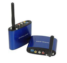 2019 pontos de áudio Novo 5.8 GHz AV Sem Fio de Áudio e Vídeo Remetente Transmissor Receptor 200 M PAT630 caixa de varejo frete grátis