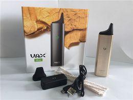 Wholesale Dry Herb Vaporizers Kits - VAX MINI vaporizer dry herb Built in 3000mAH Battery vaporizer Pen for Dry Herb vaporizers E Cigarette Kits