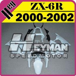 Wholesale Kawasaki 636 Plastics - In Stock Heymanspeedmotor Unpainted(Unpolished) Fairings Injection Mold For Kawasaki ZX-6R 636 ZX6R ZX 6R 2000-2002 00 01 02 K60H00