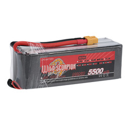 Wholesale Scorpion Helicopter - New Wild Scorpion 18.5V 5500mAh 60C LiPo Battery 5S with XT60 Plug for RC Car Airplane Helicopter Boat order<$18no track