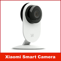 Wholesale Cctv Small Camera - Original Xiaomi Smart CCTV Camera Small Ants Smart Webcam IP Wireless Wifi Camcorder Built-in Microphone Xiaomi yi Camera