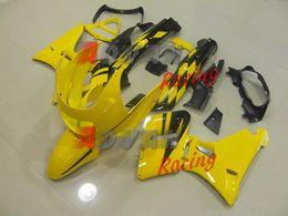 Chaud moulé par injection peint par coutume jaune et noir de carénage moulé par injection Kawasaki ZZR400 1995-2003 6 ? partir de fabricateur