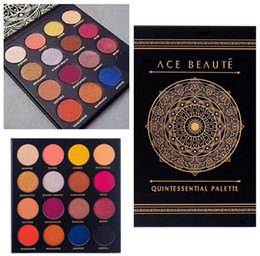 Wholesale Eyeshadow Platte - Ace Beaute Eyeshadow Platte Ace Beaute Quintessential Palette 16 Colors Matte and Shinny Eyeshadow FREE Shipping