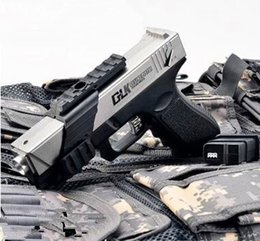 Wholesale Pistol Glock - 2017 new gun toy Glock G18 pistol gun weapon can shoot water bullet by electric fast shipping and order deal