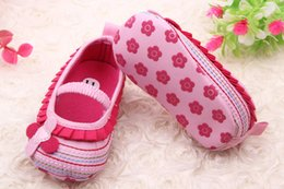 Wholesale Toddlers Shoes Manufacturers - Wholesale-2015 manufacturers selling wholesale four beautiful heart-shaped leaves flowers fold baby toddler shoes 0-2 years old baby shoes