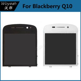 Wholesale Blackberry Parts Lcd - Blackberry Q10 LCD Display With Touch Screen Digitizer Replacement Parts Cell phone LCD Display Repair Parts For Blackberry