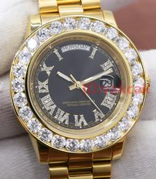 7a785726a3f 2019 luxo relógio automático safira AAA Diamonds relógios A2813 18K mens  marca de luxo Presidente Day