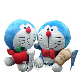 "Wholesale Doraemon Figures - Free Shipping 2 Styles Japan Anime Doraemon 7.5"" Plush Doll Figure High Quality Soft Toy"