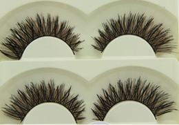 Wholesale Cheap Human Hair Lashes - similar true hair eye lashes,silk eye lashes cheap eye lashes Korea pbt fiber lashes protein human hair eyelashes 5-08