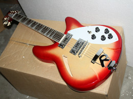 Wholesale Model Guitar - best china guitar Deluxe Model 360 12 STRING Electric guitar Semi Hollow Cherry Burst