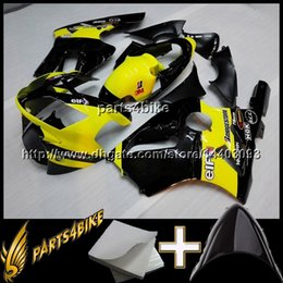 Wholesale Ninja Zx12r - 23colors+8Gifts Injection mold YELLOW ABS Fairing for Kawasaki ZX12R 02 04 ZX-12R 2002 2004 02 03 04 Motorcycle Body Kit