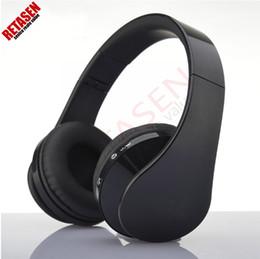 Wholesale Over Ear Phones - Wireless Bluetooth Headsets Stereo Headband Handsfree Over-ear Wireless Stereo audio On-ear Bluetooth Headphones For Phone Samsung LG HTC