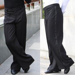 Wholesale Dancing Practice Wear - 2015 New Arrival Men Jazz Latin Dance Pants Black Mens Ballroom Dance Pants Dance Wear Practice Performance DQ6044