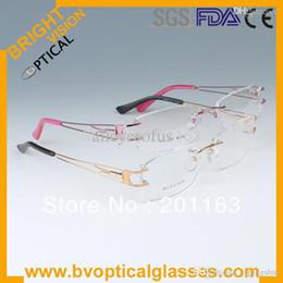 Wholesale Low Price Rims - Full rim free shipping high quality low price eyeglasses metal women 6214 optical frame