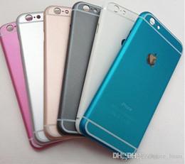 Canada DHL gratuit pour Iphone 5 6 6s, plus Hard Case Ultra-mince de protection PC Housse Or rose Or Rose Bleu Gris Offre