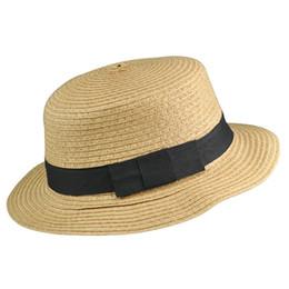 cappelli della visiera del sole delle signore all'ingrosso Sconti Berretto pieghevole pieghevole in paglia di visiera da sole da donna con visiera da spiaggia
