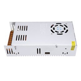 Wholesale Ac Dc 48v - Wholesale-New AC 110V 220V to DC 48V 8.3A 400W Lighting Transformers High Quality Short Circuit Protection Led Strip Power Supply