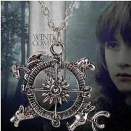 Wholesale Party Songs - Free shipping !Game of Thrones Compass Necklace A Song of Ice and Fire Film Compass necklace