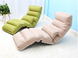 Wholesale Fabric Couches - Comfortable Folding Sofa and Lounge Chair For Living Room Bedroom Furniture Foldable Reclining Chaise Lounge Couch Sofa Bed Sleeper