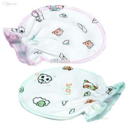 Wholesale Baby Mittens Scratch - Wholesale-Newborn baby anti scratch mittens gloves boys girls cheap infant products supplies stuff accessories B*USTZ400#A5