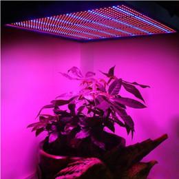 Wholesale Led Plant Grow Light Panel - 1365pcs SMD 120W 1131Red + 234Blue LED Grow Lights Hydroponics Flower Fruit Vegetable Greenhouse Plant Lamp AC 85~265V Grow Panel Light DHL