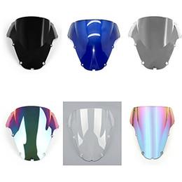 Wholesale Honda Cbr929rr - Windscreen Windshield Screen for Honda CBR900RR CBR929RR 2000 2001 6 color