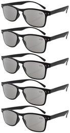 Occhiali da lettura Ultrathin Flex Frame anni '80 Occhiali da lettura Sun R046 + 0.5 / 0.75 / 1.0 / 1.25 / 1.5 / 1.75 / 2 / 2.25 / 2.5 / 2.75 / 3 / 3.5 / 4 da occhiali trasparenti in plastica trasparente fornitori