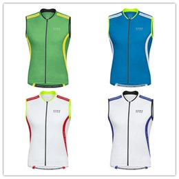 Wholesale Bike Vests - Wholesale-2015 sleeveless jersey Gores cycling vest for men mountain bike clothes spring summer style (maillot cilismo bicicleta)