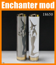 Wholesale Sex Photos Girls - Enchanter mod Magician mod 18650 Mechanical mod e-cig mod wholesale china school girl sex photos pk nemesis mod chiyou e cigarette TZ279
