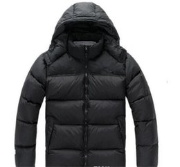 Wholesale north down jackets - Hot 2018 Free Shipping The Men Winter down jackets outdoor Keep warm fashion North casual cold warm thick down jacket Face men